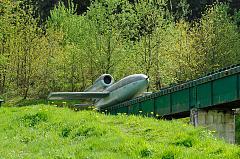 Le site au printemps 2009